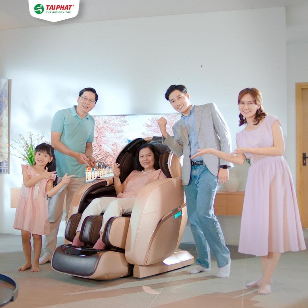 Tăng cường sức khỏe và thư giãn cùng top ghế massage Nhật Bản đỉnh cao